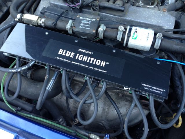 Blue Ignition test model for single ignition coils